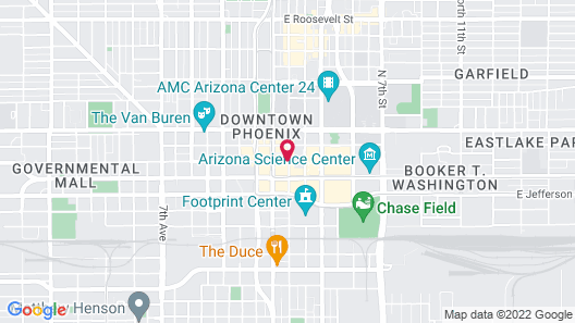 Renaissance Phoenix Downtown Map