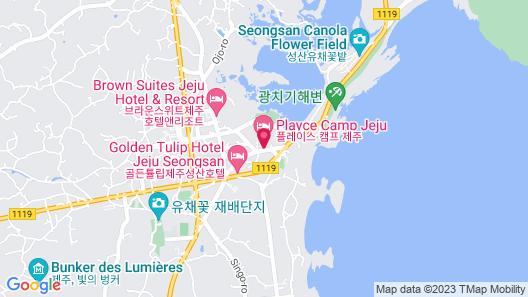 Playce Camp Jeju Map