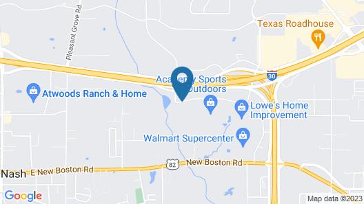 Country Inn & Suites by Radisson, Texarkana, TX Map