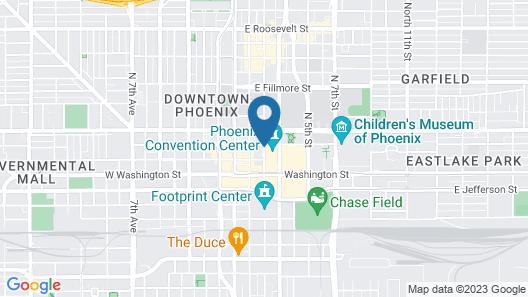Hyatt Regency Phoenix Map