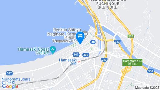 Ryokan Uohan Map