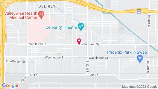 SureStay Hotel by Best Western Phoenix Airport Map