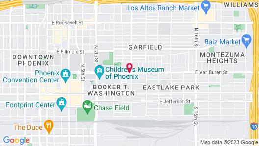 Super 8 by Wyndham Phoenix Downtown Map