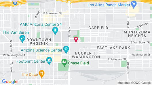 Springhill Suites By Marriott Phoenix Downtown Map