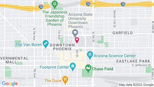 Sheraton Phoenix Downtown Map