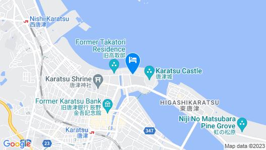 Mizuno Ryokan Map