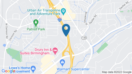 La Quinta Inn & Suites by Wyndham Birmingham Homewood Map