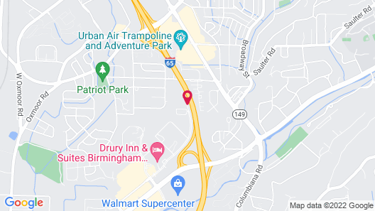 Residence Inn By Marriott Birmingham Homewood Map
