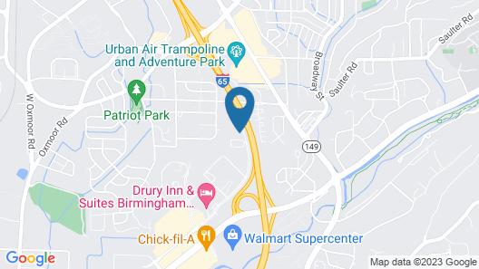 Sonesta ES Suites Birmingham Homewood Map