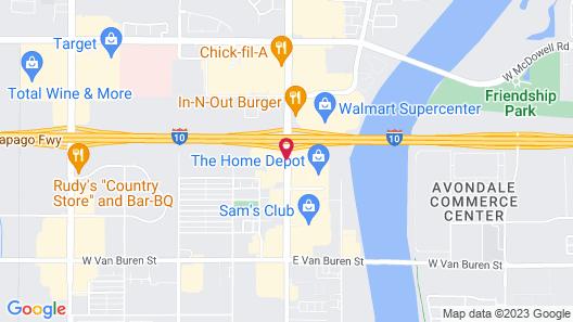 Quality Inn & Suites Goodyear - Phoenix West Map
