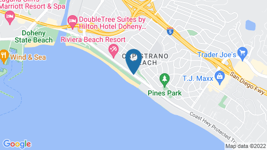 Best Western Plus Dana Point Inn-by-the-sea Map