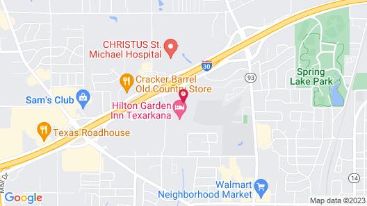 Candlewood Suites Texarkana Map