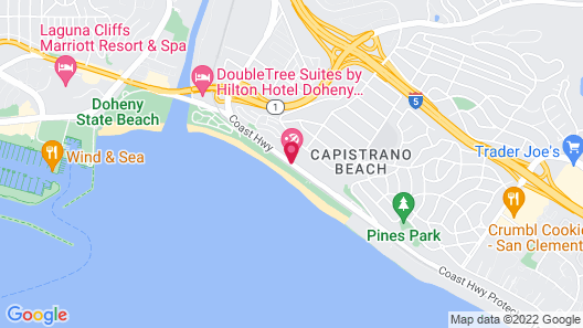 Riviera Beach & Shores Resorts by Diamond Resorts Map