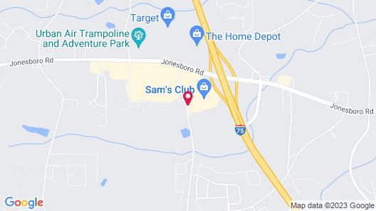 Home2 Suites by Hilton Atlanta South/McDonough Map