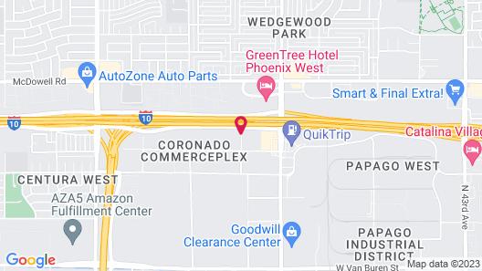 Baymont by Wyndham Phoenix I-10 near 51st Ave Map