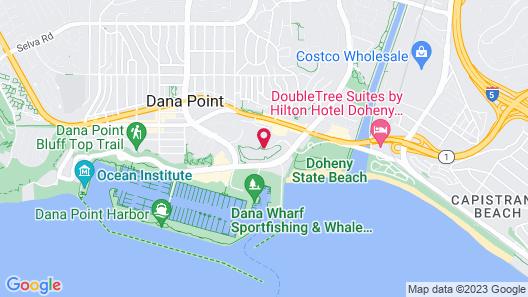 Laguna Cliffs Marriott Resort and Spa Map