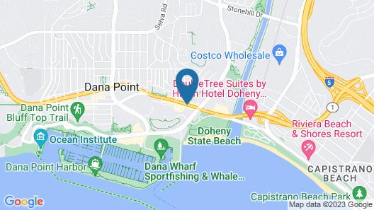 Best Western Plus Marina Shores Hotel Map