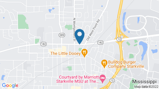 Red Roof Inn Starkville - University Map