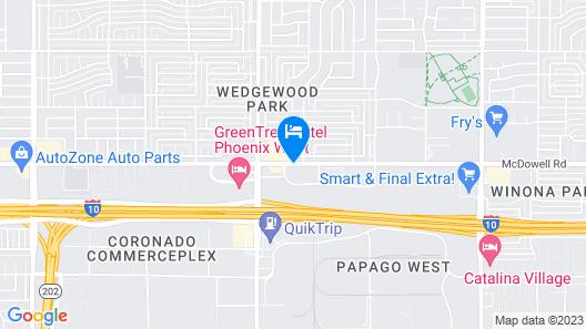 La Quinta Inn & Suites by Wyndham Phoenix I-10 West Map