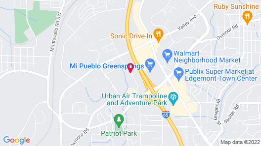 Super 8 by Wyndham Homewood Birmingham Area Map
