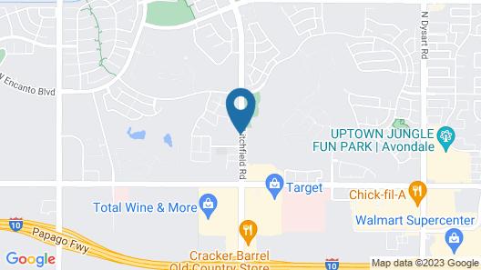 Hampton Inn & Suites Phoenix-Goodyear Map