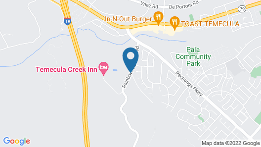 Temecula Creek Inn Map