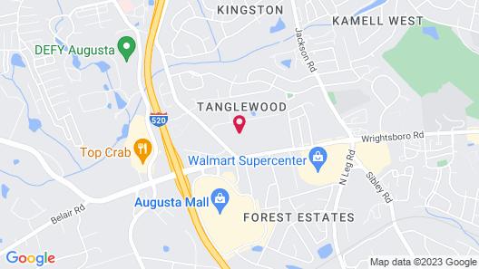 Studio 6 Augusta, GA Map
