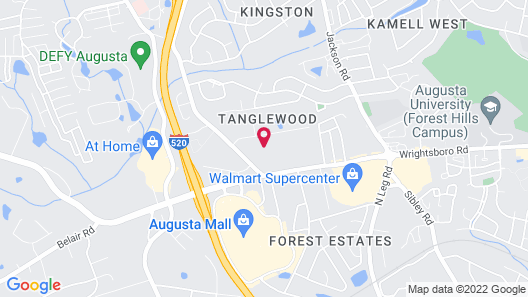 Motel 6 Augusta, GA - Fort Gordon Map