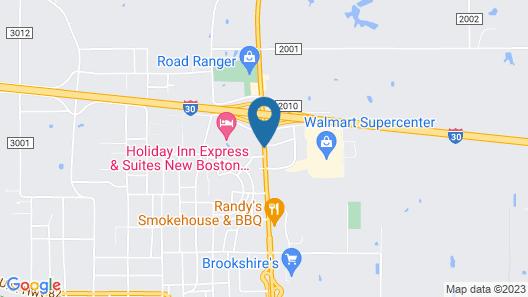 Bostonian Inn Map