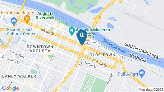 Holiday Inn Express Augusta Downtown, an IHG Hotel Map