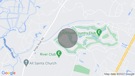 Our Happy Place in Litchfield Country Club Map
