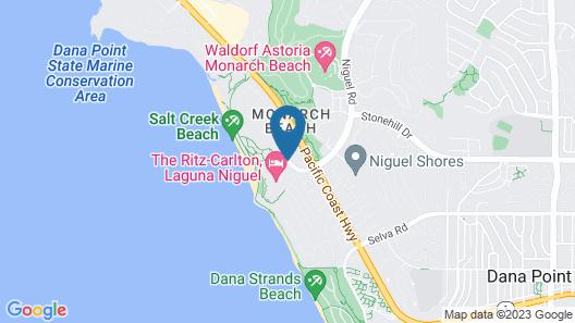 The Ritz-Carlton, Laguna Niguel Map