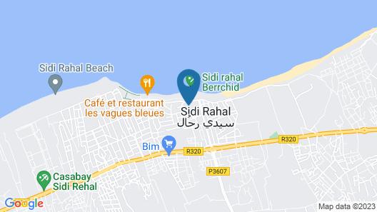 Ola Blanca Sidi Rahal Apartment Map