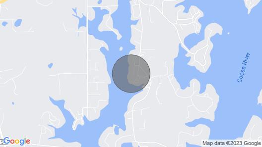 Huge Logan Martin Lake House Haven Map