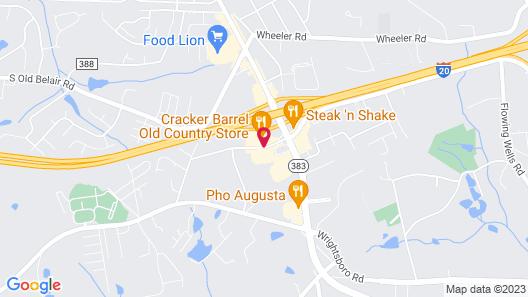 Baymont by Wyndham Grovetown Augusta Map