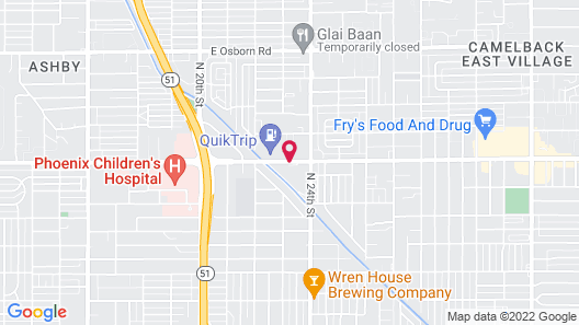 Embassy Suites by Hilton Phoenix Airport Map