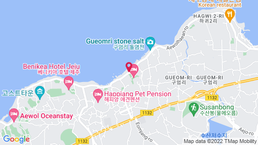 Uni Hotel Jeju Map