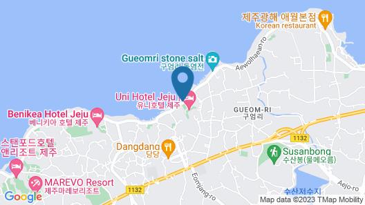 Uni Hotel Jeju Map