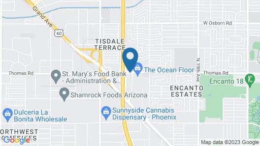 La Quinta Inn by Wyndham Phoenix Thomas Road Map