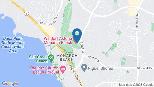 Waldorf Astoria Monarch Beach Map
