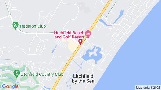Litchfield Beach & Golf Resort Map