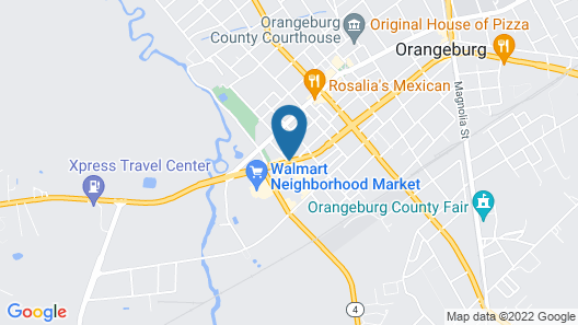 Econo Lodge Inn and Suites Map