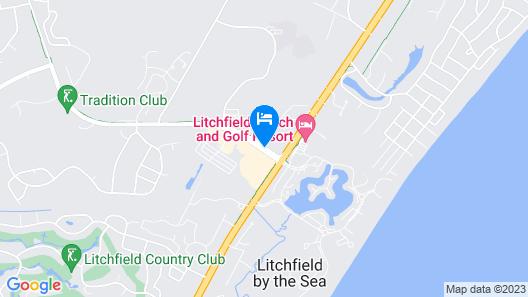 Hampton Inn Pawleys Island - Litchfield Map