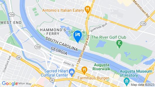 Crowne Plaza North Augusta, an IHG Hotel Map