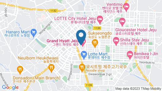 Grand Hyatt Jeju Map