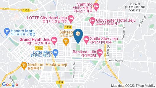 Maison Glad Jeju Map