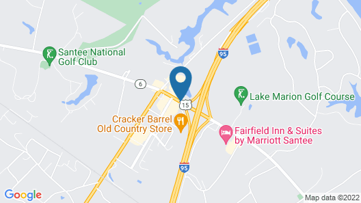 Red Roof Inn Santee Map