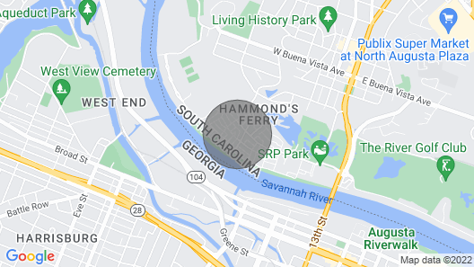 RENTAL for 2019 MASTERS WEEK  April 8-15 Map