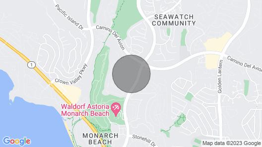 August Sale$99 Parking Level/close-salt Creek Beach.4 Mi!/laguna Map