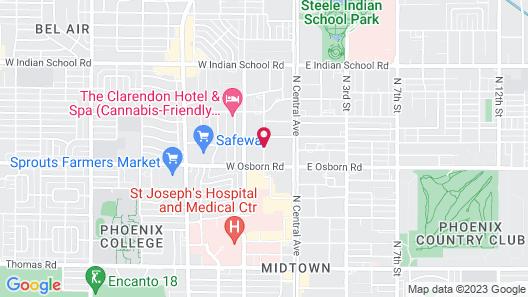 Midtown Garden Hotel Map